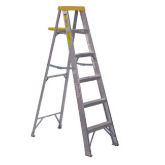 8'H Aluminum Stepladder Medium Duty Type II, V21720