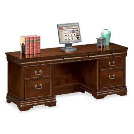 "Traditional Executive Credenza - 24"" D x 72"" W, D30138"