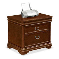 "Two Drawer Traditional Lateral File - 36"" W, D30139"