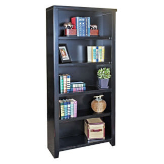 "Five Shelf Open Bookcase – 70""H, B34521"