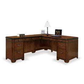 "Kensington L-Desk with Left Return - 68""W, D30049"