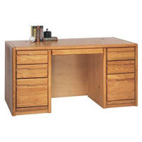 Double Pedestal Desk, D32149