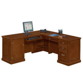 Compact L Desk with Left Return, D35299
