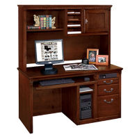 Computer Desk with Hutch, D35300