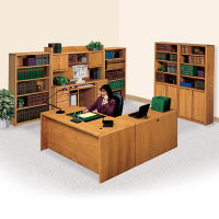 L-Desk with Left Return Office Set, D35304