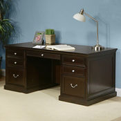 Double Pedestal Desk, D35120