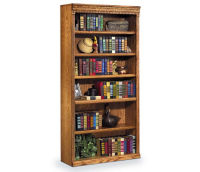 "72"" H Six Shelf Bookcase, D30124"