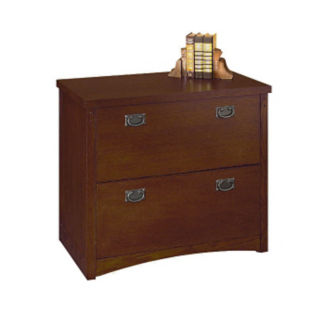 Mission Style Two Drawer Lateral File, L40786