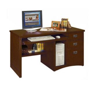 Mission Style Computer Desk, E10241