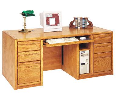 "Computer Desk 68"" Wide, D32148"