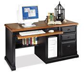 Black Deluxe Computer Desk, D35054