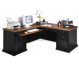 L-Desk with Left Return, D35060