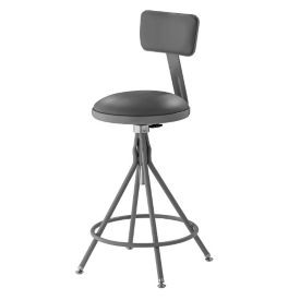 Adj. Padded Swivel Stool, C70438