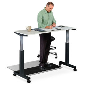 "Adjustable Height Table - 59""W, A11293"