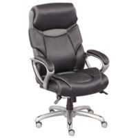 Octave Big and Tall High Back Chair with Breathable Memory Foam Seat, C80493