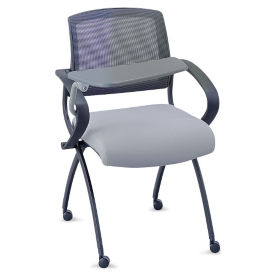 Nex Nesting Chair with Memory Foam and Right Tablet Arm, C80061
