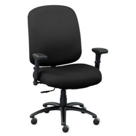 Big & Tall Fabric Chair with Arms, C80467