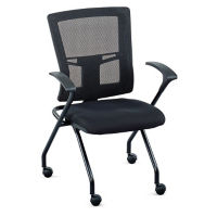 Perspective Mesh Back Nesting Chair, C50055
