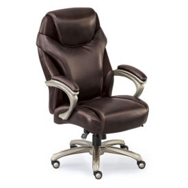 Leather and Mesh Big and Tall Chair, C80421S