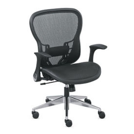 Mesh Computer Chair with Flip Arms, C80428