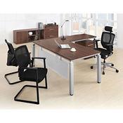 Pacifica Four Piece L-Desk Office Set, D35649