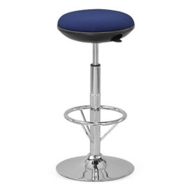 Stationary Fabric Memory Foam Stool , K10069