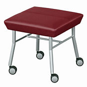 Fabric Mobile One-Seat Bench, C80243
