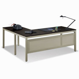 "At Work Reversible L-Desk - 72""W, D35162"