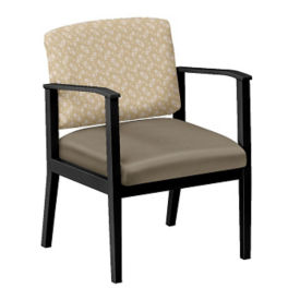 Fabric and Polyurethane Guest Chair, W60851