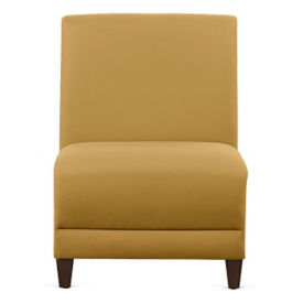 "Parkside Armless Fabric Guest Chair - 21""W, W60946"