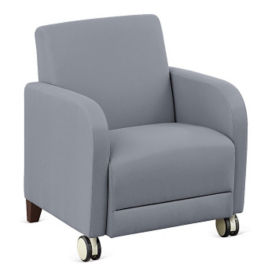 "Parkside Guest Chair with Casters - 27""W, W60951"
