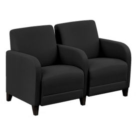 "Parkside Two Seater with Center Arm - 51.5""W, W60954"