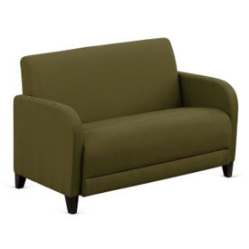 "Parkside Faux Leather or Fabric Loveseat - 50""W, W60962"