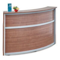 "Compass Laminate Reception Desk - 72""W x 30""D, D30290"