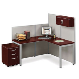 Instant Office L-Desk Set, D35674