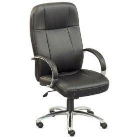 Faux Leather High Back Chair, C80009