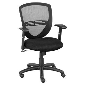 Network Mesh Back Fabric Seat Task Chair, C80498