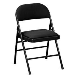 Fabric Steel Frame Folding Chair, C57790