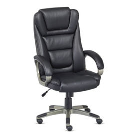 Montana High Back Faux Leather Executive Chair , C80450