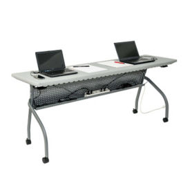 "Flipper Training Table with Modesty Panel - 19.5"" x 70"", T10058"