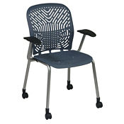 Flex Back Guest Chair with Casters, C80386