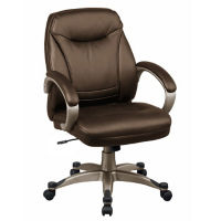 Mid Back Faux Leather Chair, C80406