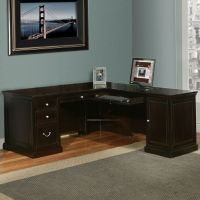 Compact L-Desk Right Return, D35141