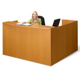 "Reception L-Desk - 71"" x 72"", W60489"