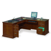 Executive L-Desk with Right Return, D30185