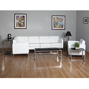 Faux Leather L-Sofa, W60704