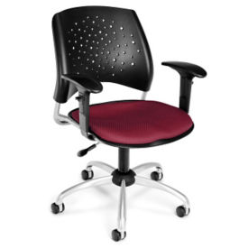 Stars Task Chair with Arms, C80259