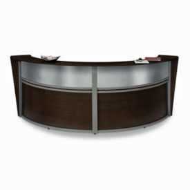 Marque Curved Double Reception Station, D35155