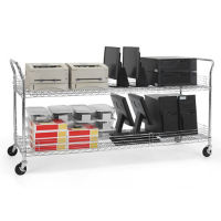 "Heavy Duty Mobile Cart 72""W x 24""D, B34427"