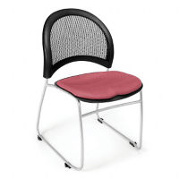 Mesh Back Moon Stack Chair, C67741